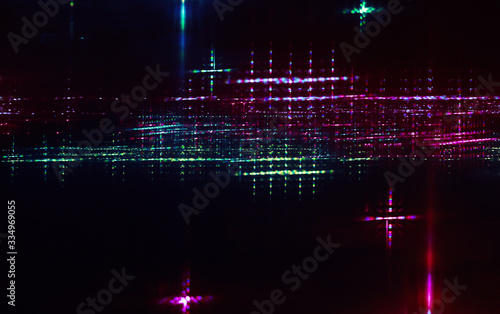 Valokuvatapetti Abstract background photo with colorful lights