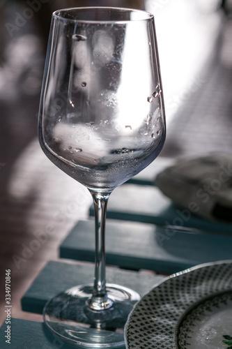 Stampa su Tela bicchiere vuoto