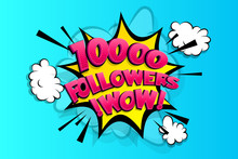10000 Followers Thank You For ...