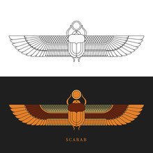 Symbol Of The Ancient Egyptians.