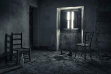 Habitación De Casa Abandonada...