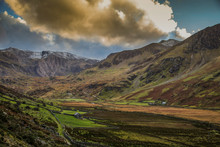 Ogwen Valley Pass In Snowdonia From A5