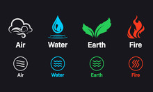 Four Elements Of Nature Air, F...