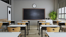 Modern Classroom Design With M...
