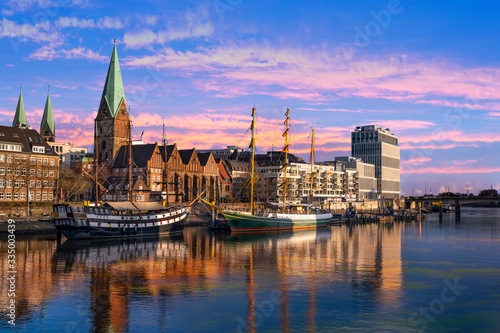 Obraz na plátně Bremen Weser