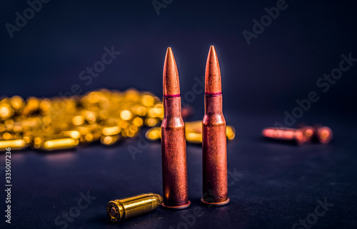 Photo Bullets and handcuffs