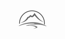 Mountain Vector Logo Design