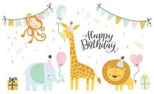 Birthday Vector Illustrations....