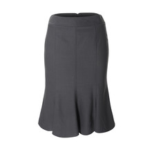 Women's Gray Skirt Isolated On...