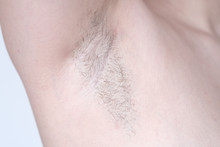 Young Woman Showing Hairy Armp...