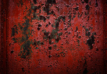 Iron Texture Or Background Wit...