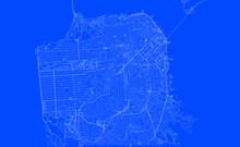 Blueprint Of San Francisco Cit...