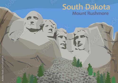 Fototapeta Mount Rushmore National Memorial, Keystone, South Dakota