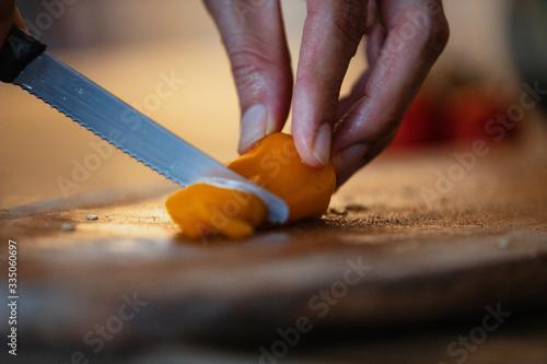 Photo Préparation de Salade Végétarienne