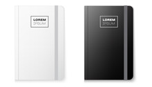 Realistic Notebook Mock Up For Your Image