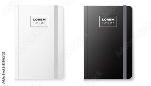 Obraz Realistic notebook mock up for your image - fototapety do salonu