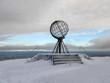 canvas print picture - Nordkapp im Winter, Norwegen
