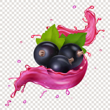 Black Currant Juice Splash Ber...