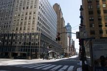 Empty New York City Due To Coronavirus