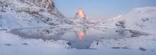 The Matterhorn Top Reflected I...