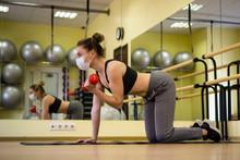 Attractive Female Sport Fitnes...