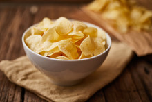 Potato Chips For A Tasty Snack Break.