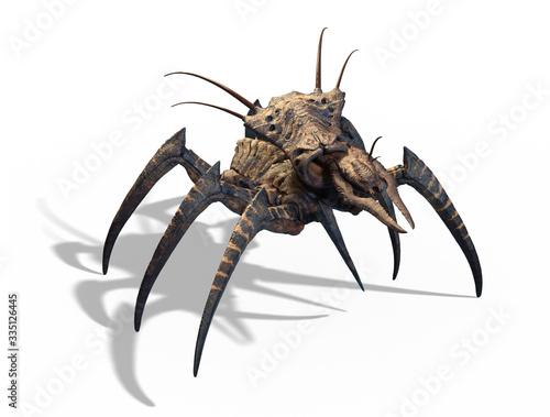 Canvastavla Mutant Spider