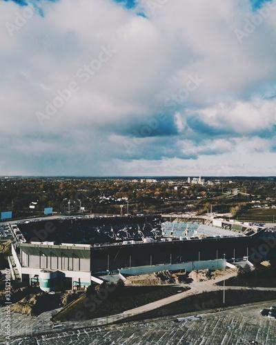 Fotografia Pontiac Silverdome Demolish