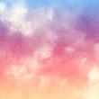 Sunset Sunrise Abstract Painterly Sky