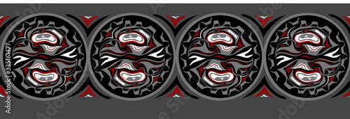 Fotografia abstract background native north american