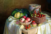 Still Life With Tomatoes And A...