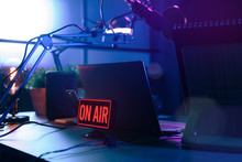 Live Online Radio Station With...