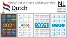 Dutch Vertical Pocket Calendar...