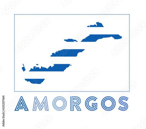 Amorgos Logo Wallpaper Mural