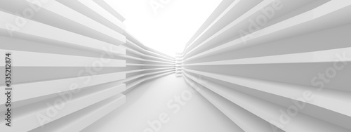 Abstract Hall Background. Minimal Architecture Design