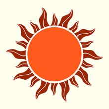 Sun Icon. Summer Symbol Vector...