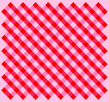 Checkered Tablecloth Pattern. ...