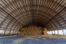Large Hangar For Storing Straw Or Hay