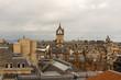 Vista della città di Edinburgo, Scozia
