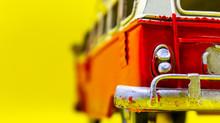 Red Caravan Toy Headlight