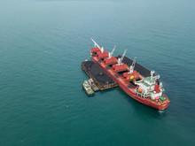 Coal Shipping On MV Aerial Pho...
