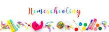 Homeschooling Web Banner. Pano...