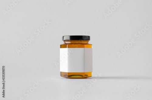 Honey Jar Mock-Up - Blank Label Poster Mural XXL