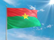 Burkina Faso National Flag Wav...