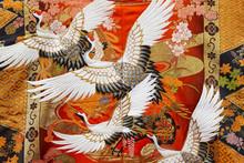 Traditional Japanese Kimono Te...