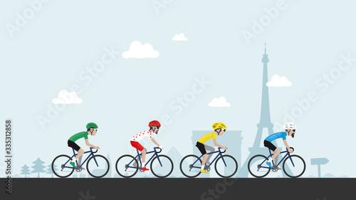 Obraz na plátně Tour de France