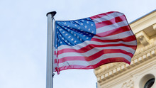 The American Flag In Checkpoin...