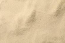 Dry Sea Sand Background, Close...