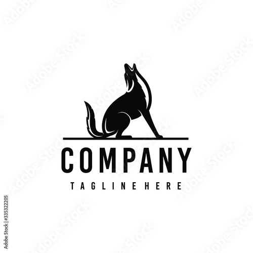 Foto Coyote logo design
