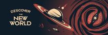Space Horizontal Poster